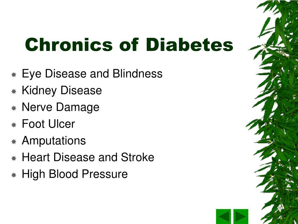Chronics of Diabetes