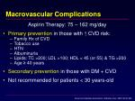 macrovascular complications72