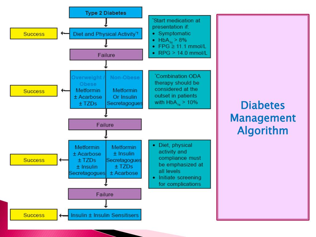 Diabetes Management Algorithm