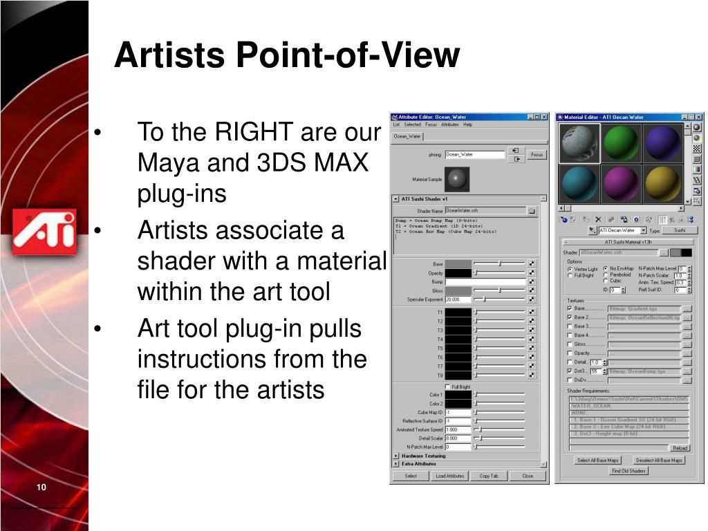Artists Point-of-View