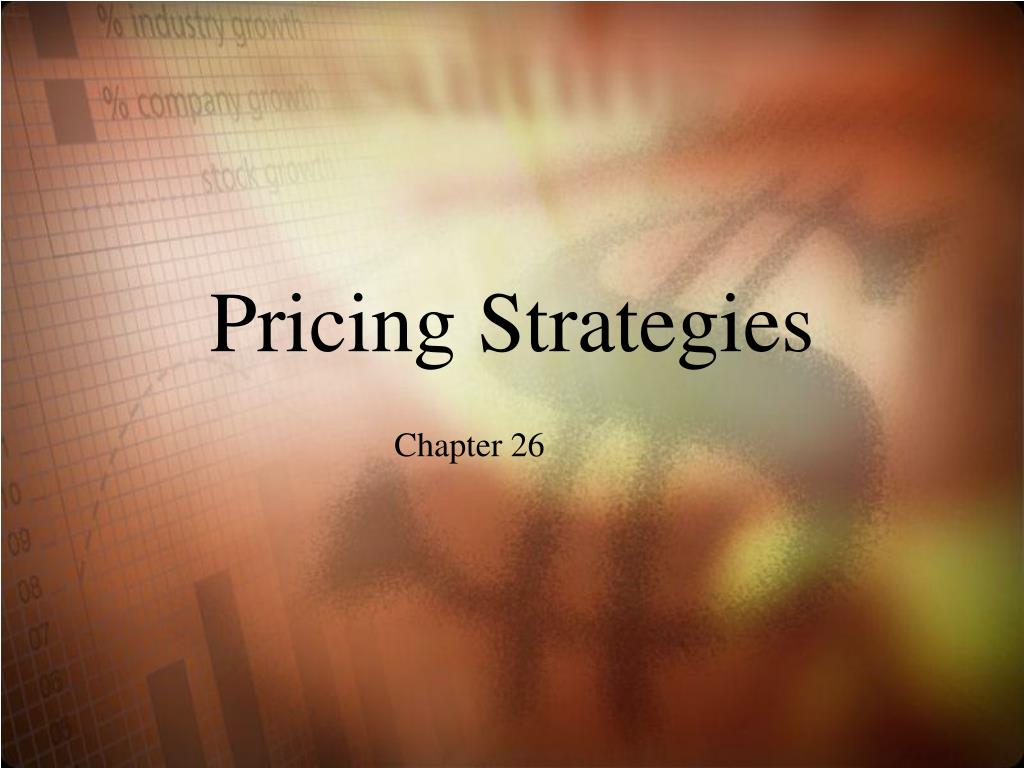 pricing strategies l.