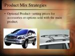 product mix strategies5
