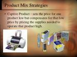 product mix strategies6