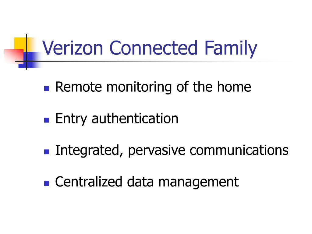 Verizon Connected Family