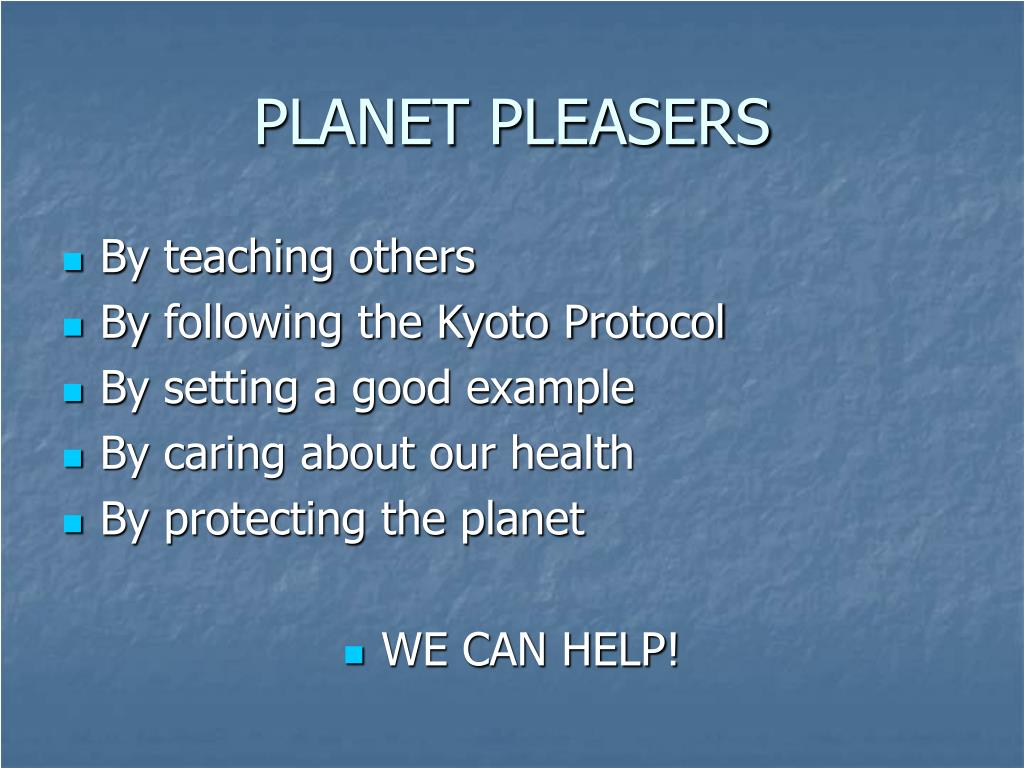 PLANET PLEASERS