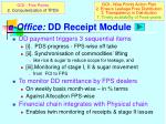 e office dd receipt module