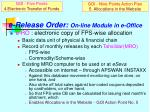 e release order on line module in e office