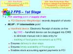 fci 2 fps 1st stage