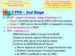 fci 2 fps 2nd stage
