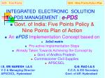 integrated electronic solution to pds management e pds