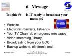 6 message