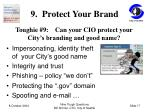 9 protect your brand