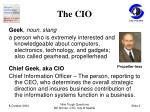 the cio