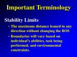 important terminology7