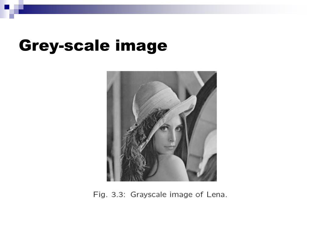 Grey-scale image