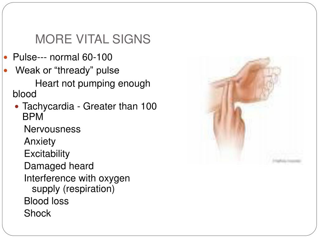 MORE VITAL SIGNS