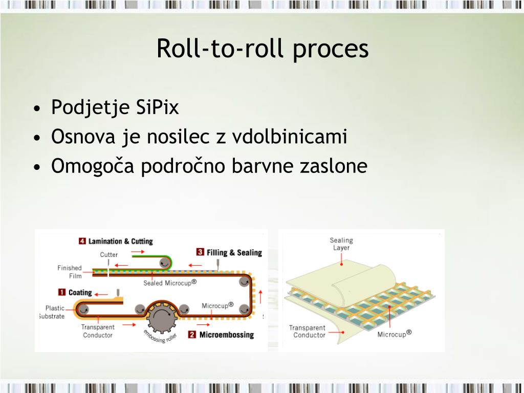 Roll-to-roll proces