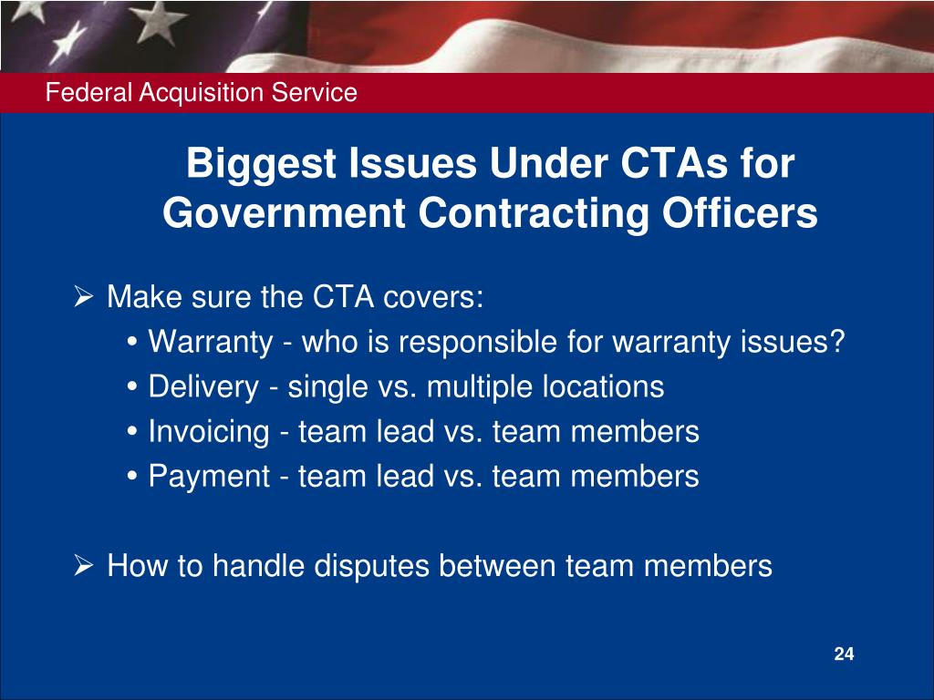 Biggest Issues Under CTAs for