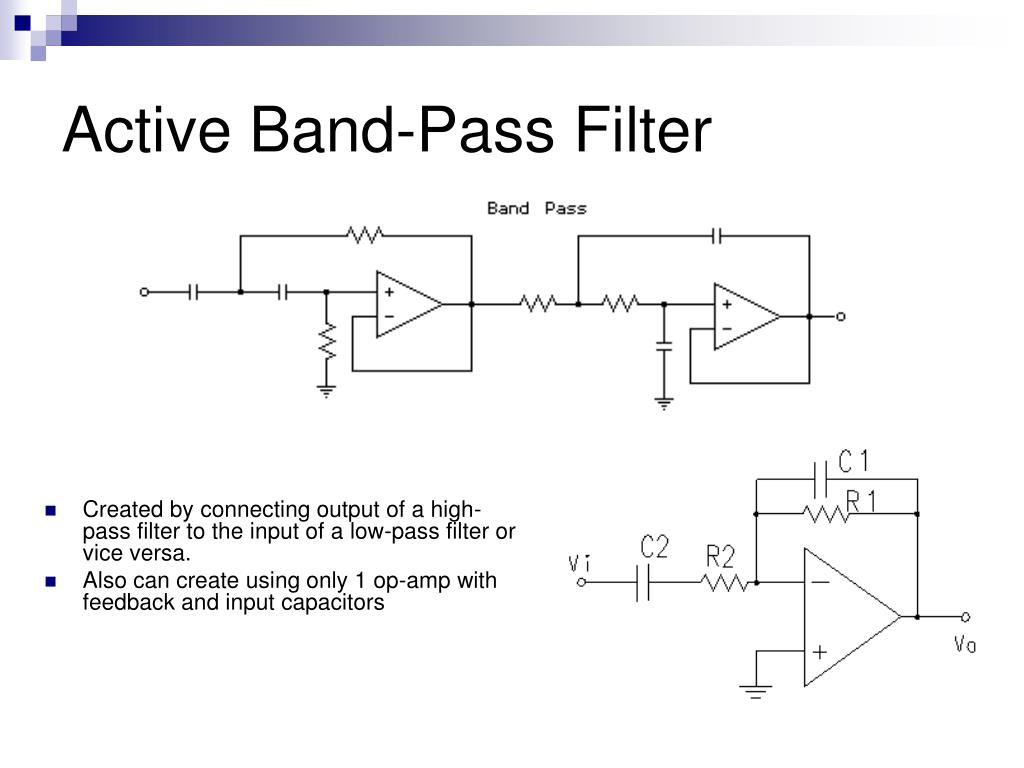 Active Band-Pass Filter