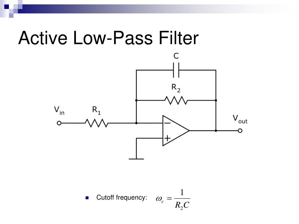 Active Low-Pass Filter