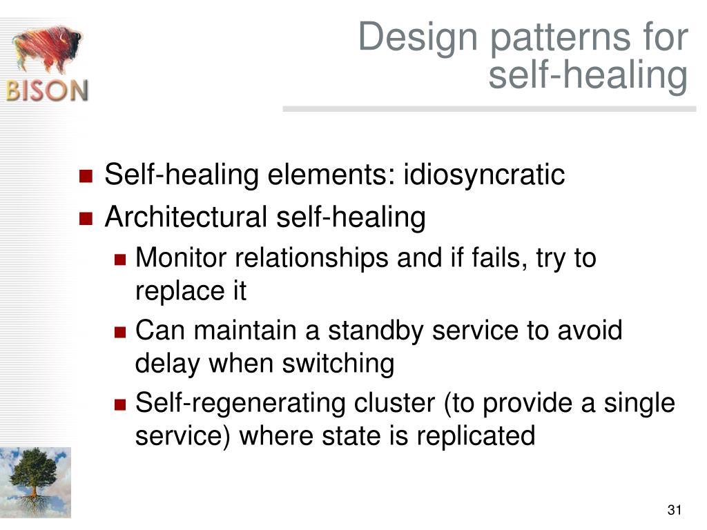 Design patterns for
