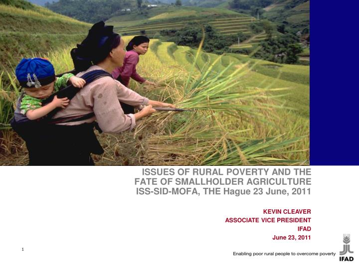 poverty and low production agriculture Agricultural growth is the key to poverty alleviation in low-income developing countries  • yield-increasing and environmentally-friendly production  invest in agricultural development will make poverty eradication an elusive goal.