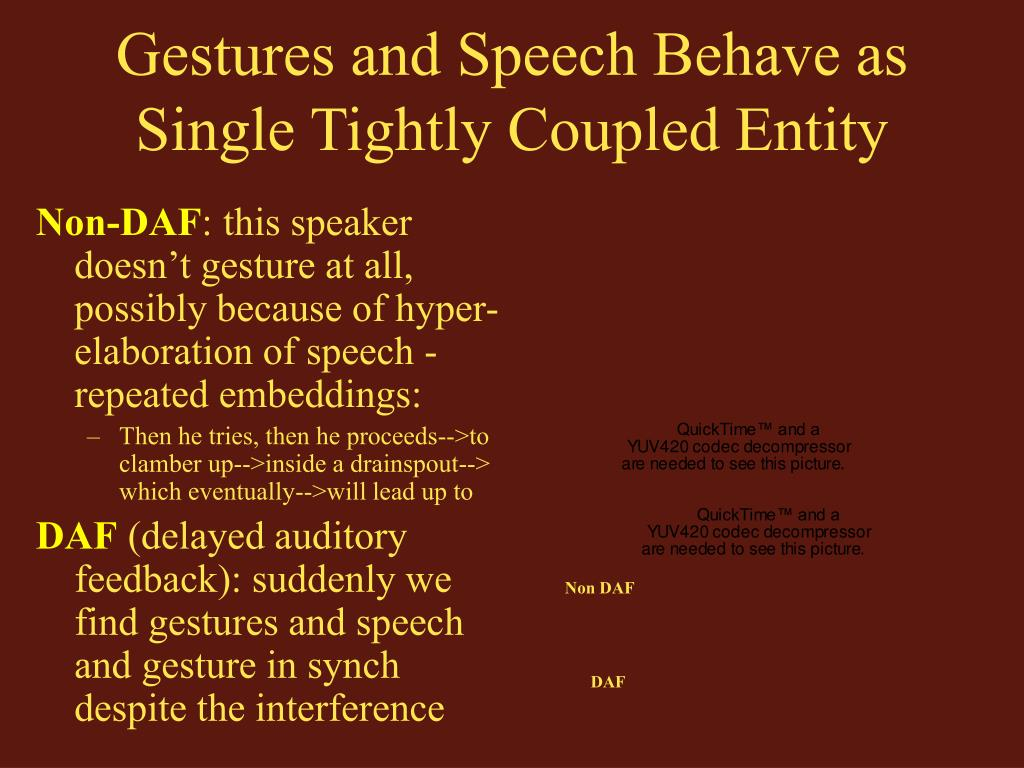 Gestures and Speech Behave as Single Tightly Coupled Entity