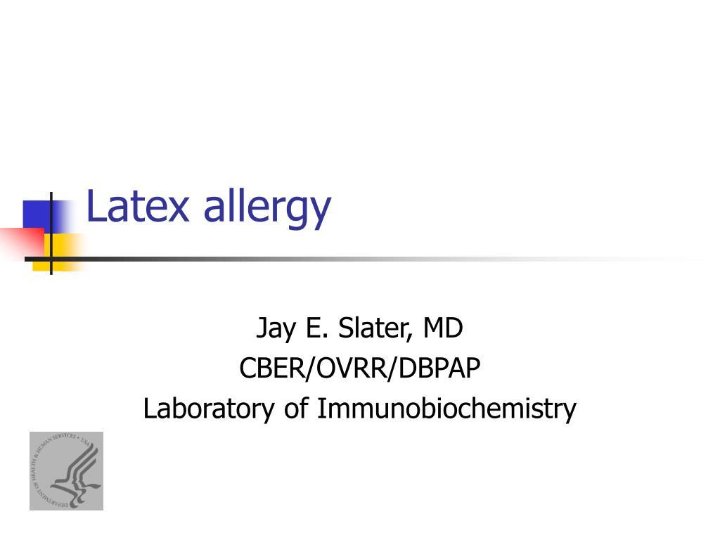 allergy point Latex power