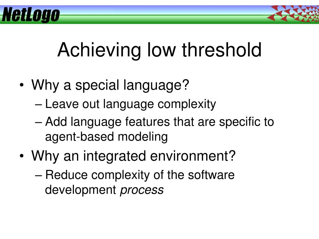 Achieving low threshold