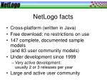 netlogo facts