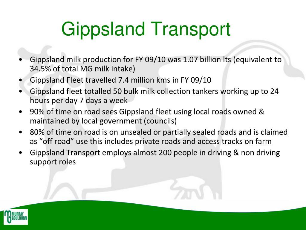 Gippsland Transport