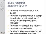 sled research teachers gr 3 6