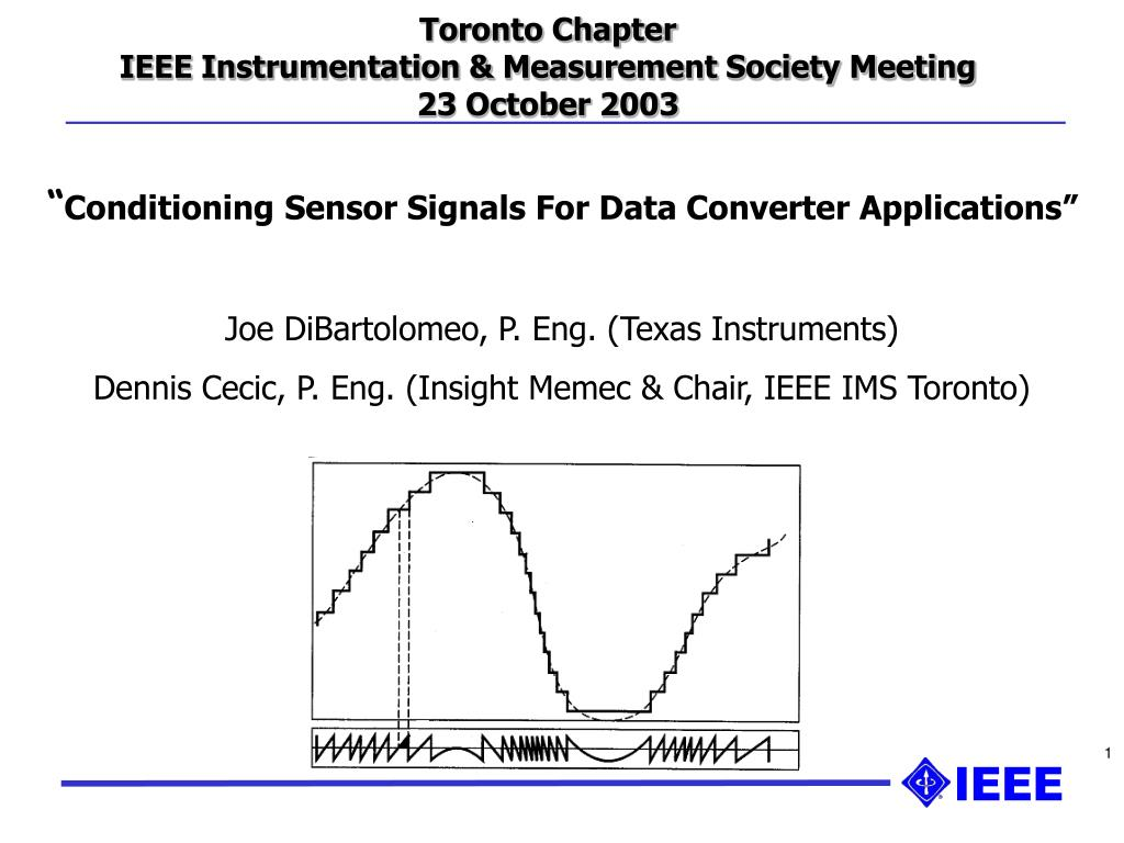 Ppt Toronto Chapter Ieee Instrumentation Measurement Society Circuit Medium Power 40khz Ultrasound Transducer Driver Circuits Meeting 23 October 2003 Powerpoint Presentation Id760632