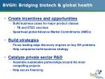 bvgh bridging biotech global health