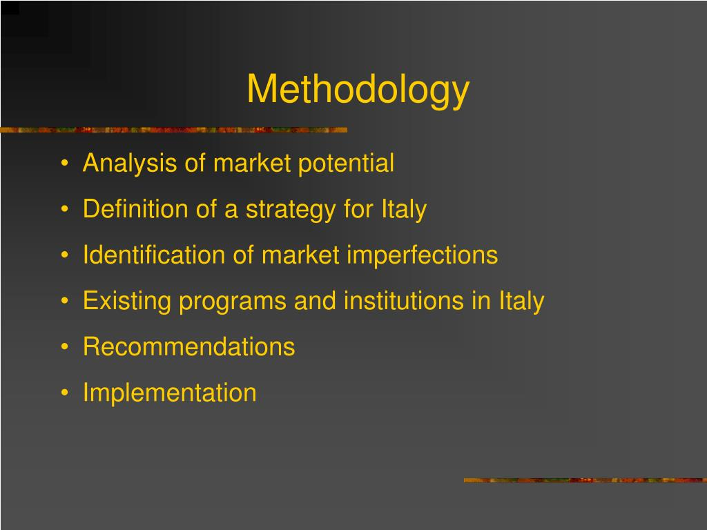 Methodology