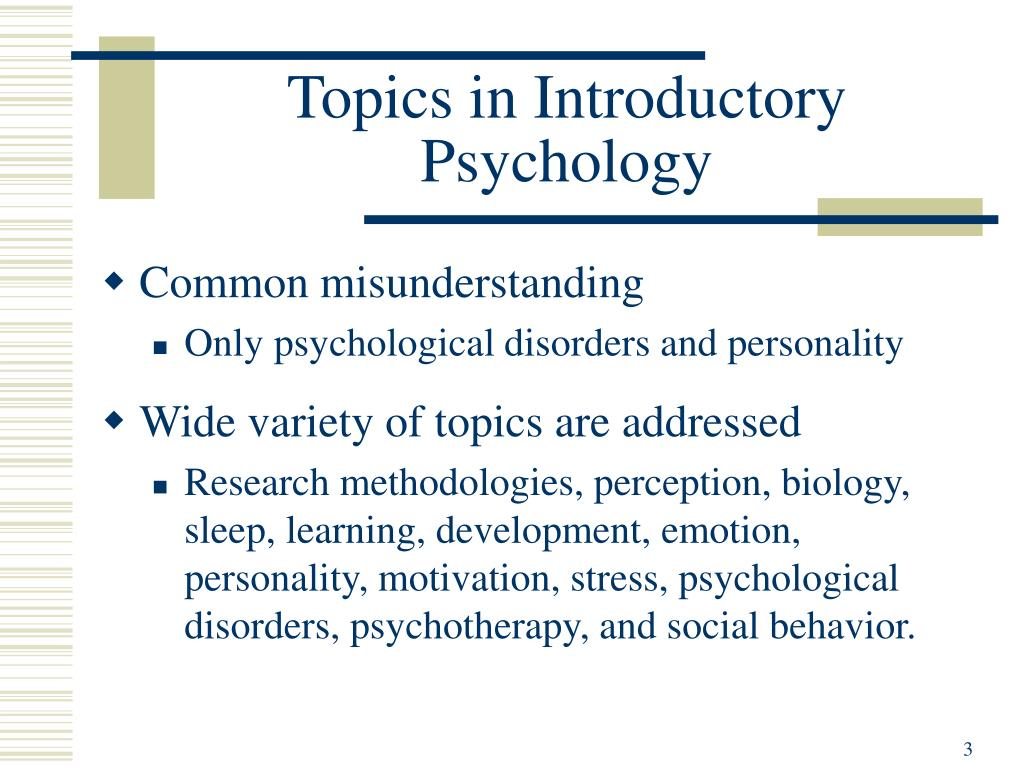 PPT - Overview of Psychology PowerPoint Presentation - ID:760831