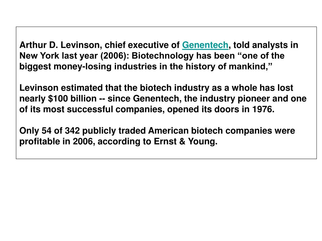 Arthur D. Levinson, chief executive of