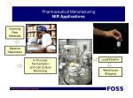 pharmaceutical manufacturing nir applications
