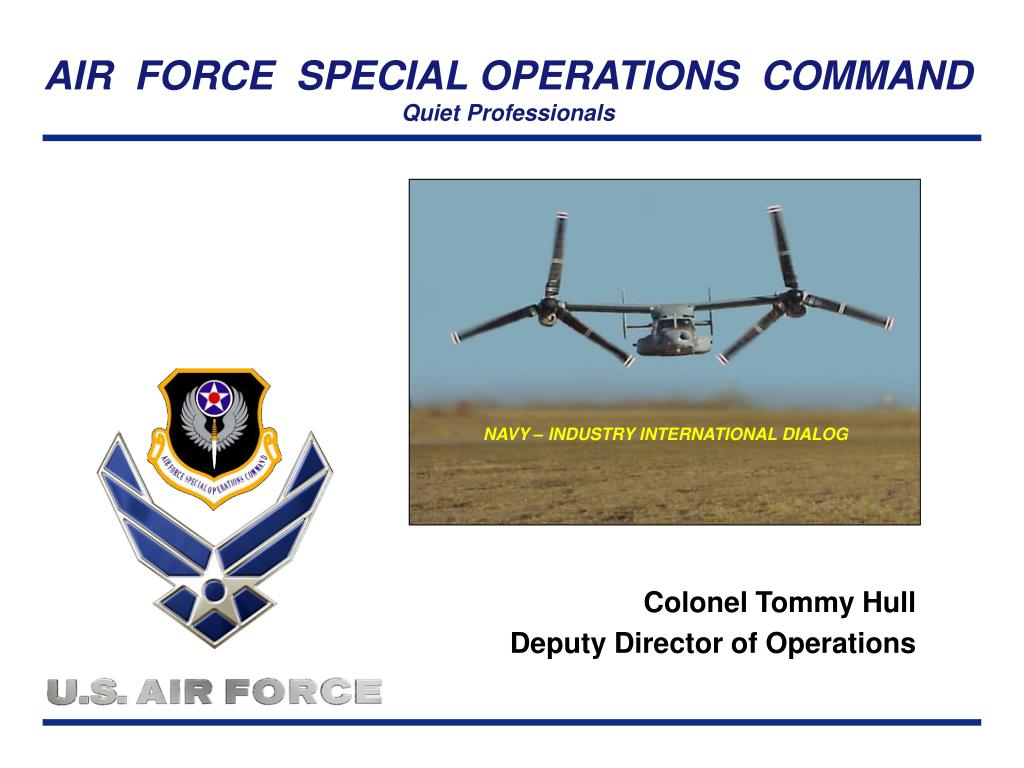 colonel tommy hull deputy director of operations l.