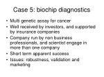 case 5 biochip diagnostics