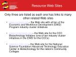 only three are listed as each one has links to many other related web sites
