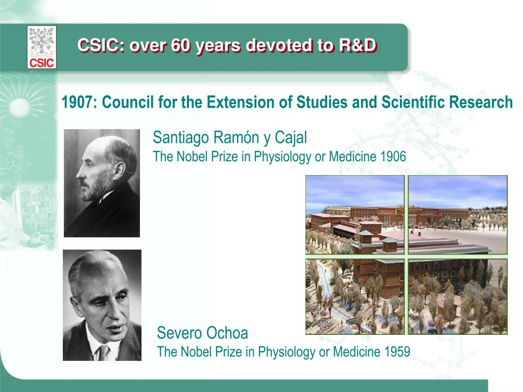 CSIC: over 60 years devoted to R&D