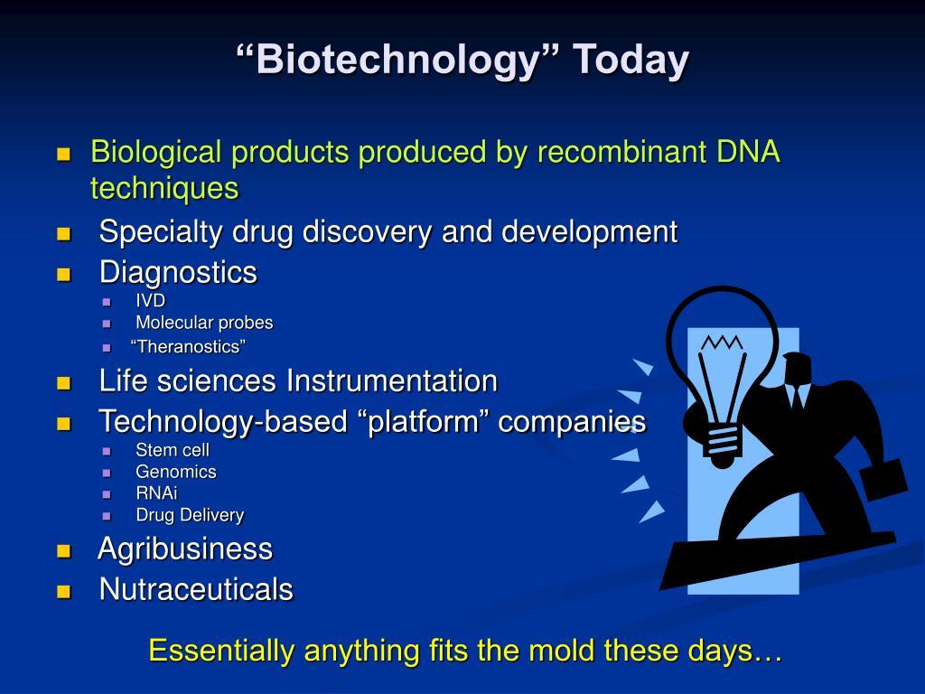 """Biotechnology"" Today"