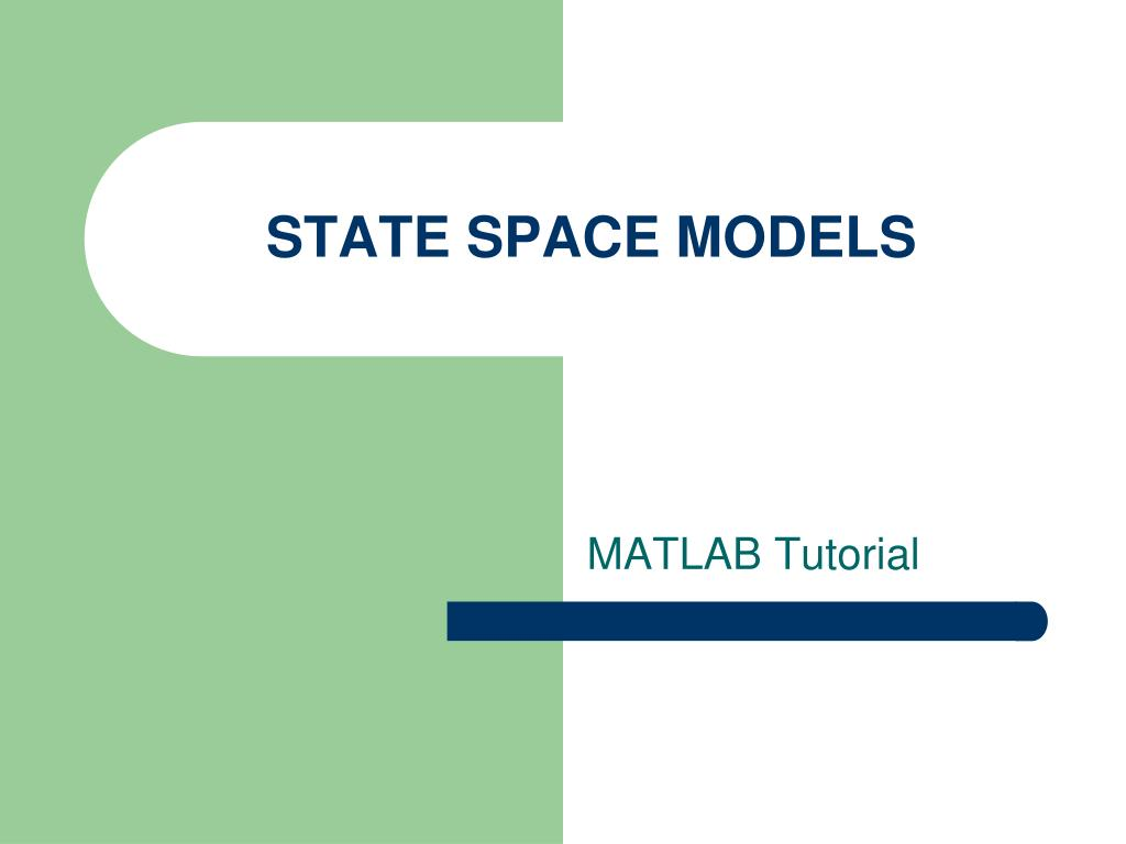 state space models