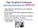 tiger graphics embosser http www viewplustech com now 3 d