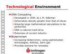 technological environment7