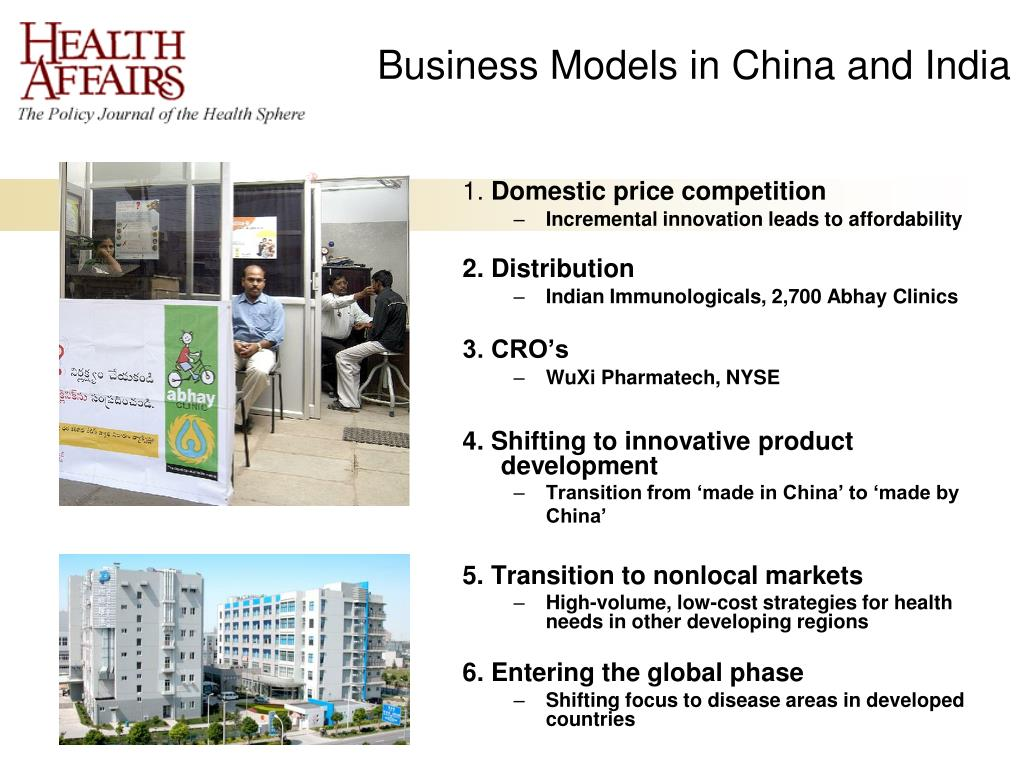 Business Models in China and India
