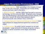 japan bioscience environment 2002
