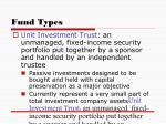 fund types