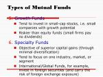 types of mutual funds10